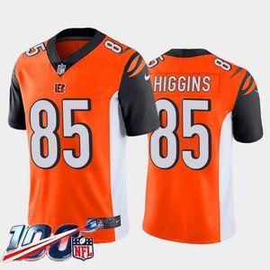 Cincinnati Bengals Tee Higgins Orange Jersey